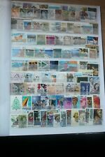 100+ Australia Stamps - Off Paper - Used -   # 1982