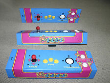 """Ms. PacMan multicade COMPLETE control panel... ALL NEW.... 2-1/4"""" trackball"""