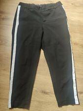 Zara Thick Leggings Trafaluc Collection Black & White Stripe Size M