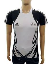 T shirt Adidas da uomo XS THW Kiel maglia pallamano handball 2009 bianco nera