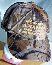 ALABAMA Super Pawn Adjustable Camo Hat One Size Camouflage Baseball Cap