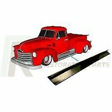 1947 thru 1954 Chevy GMC Truck Running Board Gasket Rubber Trim Seal L & R Pair