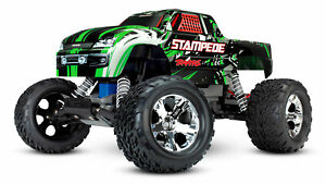 Traxxas Stampede Grün ARTR Brushed RC Monster Truck 36054-4 TRX36054-4 2,4GHz