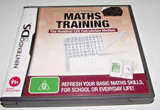 Maths Training Nintendo DS 3DS 2DS Game *Complete*