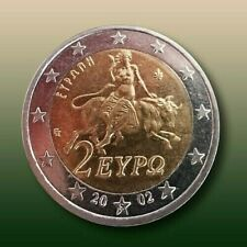 """2 Euro RARE Coin 2002 / """"S"""" on the star /  Unc."""