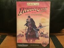 Indiana Jones and the Last Crusade (Sega Genesis, 1992) Game & Case
