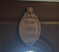 Haunted Mansion Welcome Foolish Mortals Inspired Prop Sign / Plaque Replica