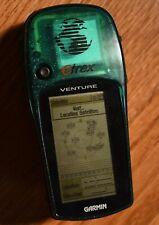 GARMIN eTrex VENTURE Handheld GPS Navigator Traveling Receiver Hiking Green