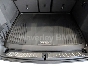 New Genuine BMW X3 G01 Boot Mat Fitted Luggage Liner Part 51472450516