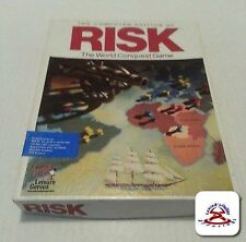 1989 RISK IBM PC/Tandy DISKS The COMPUTER Edition Of RISK With BOX INSTRUCTIONS