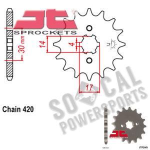 JT Sprockets JTF249.16 16T Steel Front Sprocket