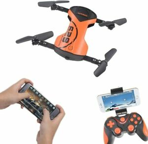 LHI Headless Quadcopter Pocket Quadcopter Drone with HD Wi-Fi Camera 628 FPV