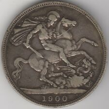 More details for 1900 lxiii victoria silver crown | british coins | pennies2pounds