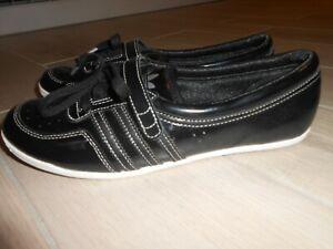Adidas Concord Round W Gr 38 UK 5 Ballerinas 2009 schwarz G19199 Sneaker Piona