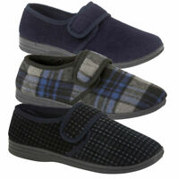 Mens Wide Fitting Slippers Mens Extra Wide Fitting Slippers House Shoes Opening