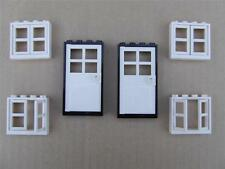 New Lego City Train Friends Belville Town House 2 Doors and 4 Windows Lot Set