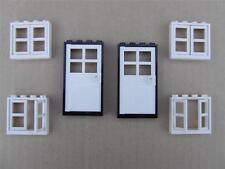 New Lego City Train Friends Belville Town House 2 Doors and 4 Windows Lot Set