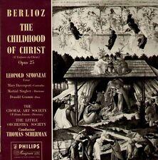 Berlioz - Childhood of Christ, UK 2 LP Mono ED 1 , Simoneau, Davenport, Scherman