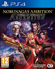 Nobunaga's Ambition: Sphere of Influence - Ascension  playstation 4  PS4