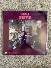 Sunset Boulevard Laserdisc - Gloria Swanson