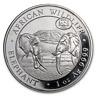 2019 Somalia 1 oz Silver Elephant Chicago ANA Privy (Abrasions) - SKU#198792