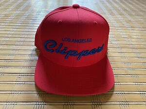 Vintage Los Angeles CLIPPERS Adidas Draft Hat 25th Anniversary Collection NEW