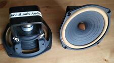 pair 2pcs HiEND 6.5inch fullrange speaker DIATONE P610 rebuild (classic Alnico )