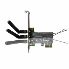 New 3 Antenna Mini PCI-E to PCI-E Express X1 WiFi Wireless Extender Card Adapter
