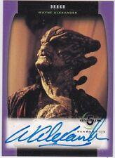 Babylon 5 Season 5 A13 Wayne Alexander As Drakh Autograph