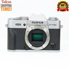 FUJIFILM X-T20 Mirrorless Digital Camera Silver Body EXCELLENT Cond. from Japan