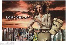 PUBLICITE ADVERTISING 105  2006   LONGCHAMP   sacs  (2p)  & KATE MOSS