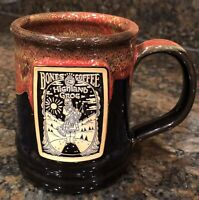 Bones Coffee Company Deneen Pottery Mug Highland Grog 2020 Mug