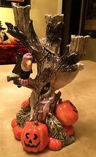 "Fitz & Floyd ""Vulture Tree Candelabra"" © Ff 1988 Halloween"