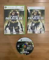 Tomb Raider: Underworld (Microsoft Xbox 360, 2008) Complete CIB - Ships Same Day