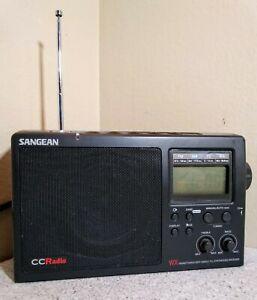 SANGEAN CC Radio WX-AM/FM/TV/Weather Band Radio Receiver Alert