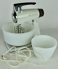 Vintage Sunbeam Mixmaster Model Mma w/ 2 Bowls - Tested/Working, See Description