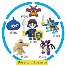 6 Pcs LOZ Cartoon Dragon Quest Minifigure Mini DIY Building Nano Blocks Toy Gift