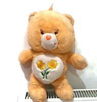 "VINTAGE 1980s CARE BEAR ORIGINAL ""Friend Bear"" Care Bear Plush Orange 13"""