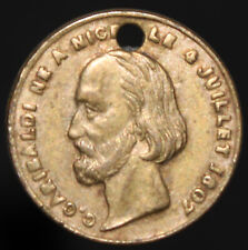 More details for g. garibaldi born in nice 4th july 1807 italian independence token   km coins