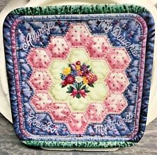 """1997 Bradford Exchange """"Always My Daughter"""" Plate By Mary Ann Lasher Nos"""