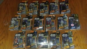 Star Wars Saga Legends - Various Collectable Action Figures Brand New Free Post*