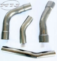 Stainless Steel Bend 10 Degree to 45 Degrees Various Angles Exhaust Repair Tube
