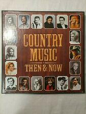 Country Music Then & Now Box Set of 6 Vinyl LPs Country Music Records