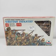 Esci Italy British Infantry Indian War Kiber Pass 1/72 Scale # 232