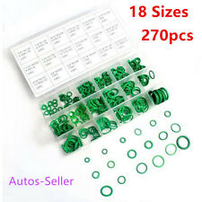 HNBR Tubber 270Pcs Car Auto Air Conditioning System A/C O-Rings Seal Repair Tool