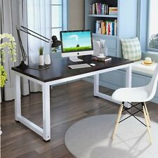 Modern Home Study Working Desk Home Office Computer PC Table Worksation Black