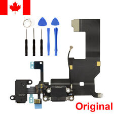 iphone 5 5G Dock connector Charging USB Port Flex Cable Black Audio