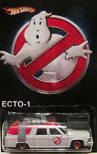 "Hot Wheels CUSTOM ECTO-1 ""Ghostbusters"" Real Riders Limited Edition 1/25 Made!"