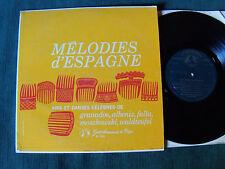 "MELODIES D'ESPAGNE - Granados, Albeniz, De Falla 25 cm 10"" LP 33T GID M 2503"