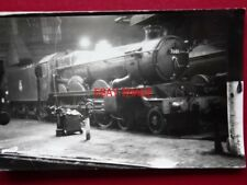 PHOTO  GWR CASTLE CLASS LOCO NO 7001 SIR JAMES MILNE AT OLD OAK COMMON